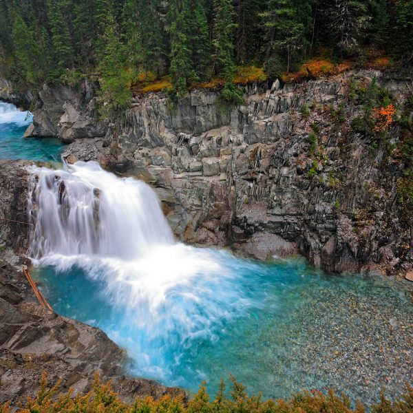 Cross River Falls, near Radium, British Columbia, Canada