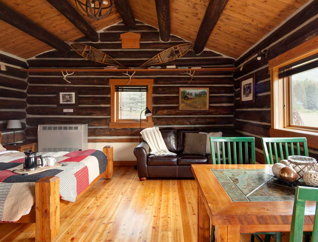 Nipika Rocky Mountain cabins - Bill Yearling Cabin